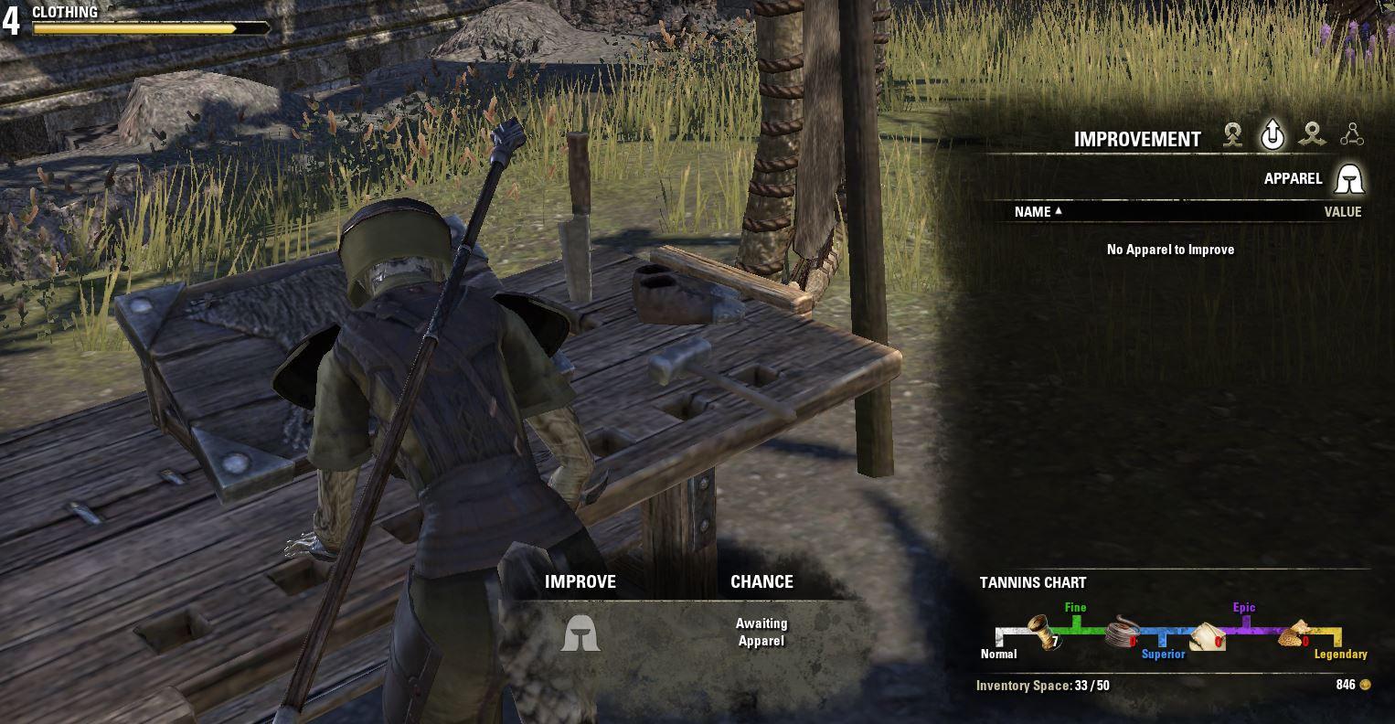 Eso Crafting Elder Scrolls Online Clothing Crafts And Motif