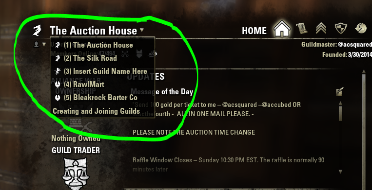 Ac S Noob Guide Guilds Guild Stores And Guild Banks In The Elder